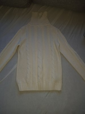 Esmara Knitted Sweater natural white