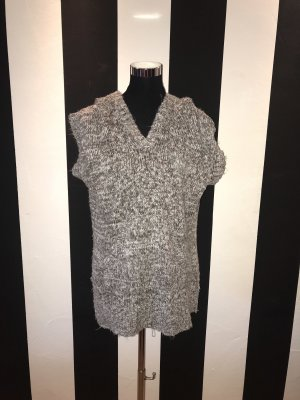 Damen Strick Shirt-/Kleid mit Kapuze