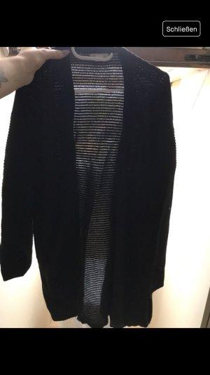 Damen Strickjacke in schwarz