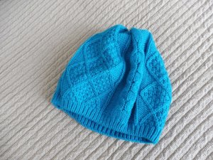 Knitted Hat neon blue
