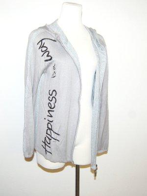 Damen-Sweatweste mit Kapuze grau von Monari Gr.40