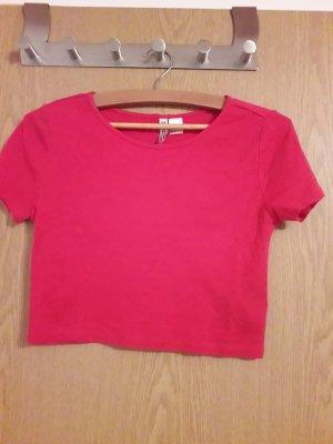 HM T-Shirt raspberry-red