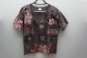 T-Shirt brown cotton