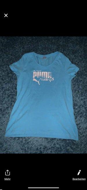 Puma T-Shirt neon blue