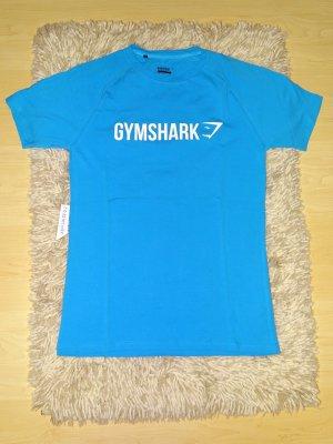 Damen T-Shirt rundhals kurzarm türkis Gr. S Gymshark (NP: 20€)