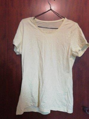 Camiseta amarillo pálido