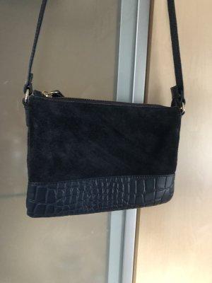 Damen Tasche 5Th Avenue Umhängetasche Blau Wildleder