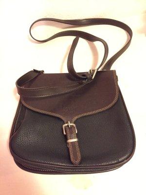 Damen Tasche  Handtasche Ledertasche Schultertasche Von Esprit Braun Echtleder