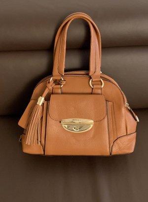 Lancel Handbag cognac-coloured