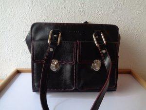 Damen Tasche Tom Tailor Schwarz Rot Klein
