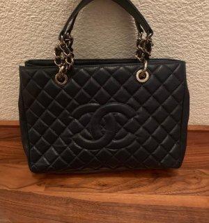 Chanel Handtas donkerblauw