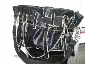 Damen-Tasche von Sisley - schwarz - neu