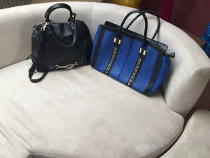 Just Fab Carry Bag black-blue