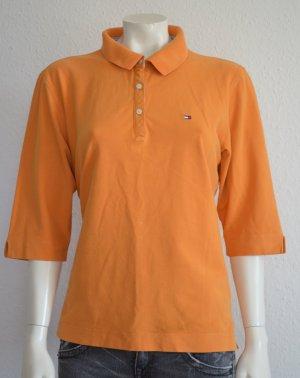#Damen #Tommy #Hilfiger #Poloshirt #Orange #Größe #xxl
