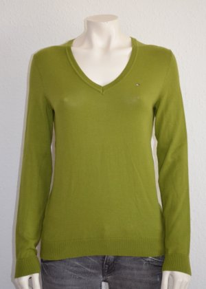 #Damen #Tommy #Hilfiger #Pullover #Grün #Größe 'S