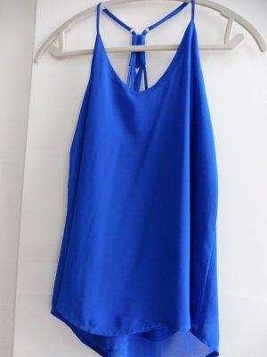 Damen Top Blau Größe S