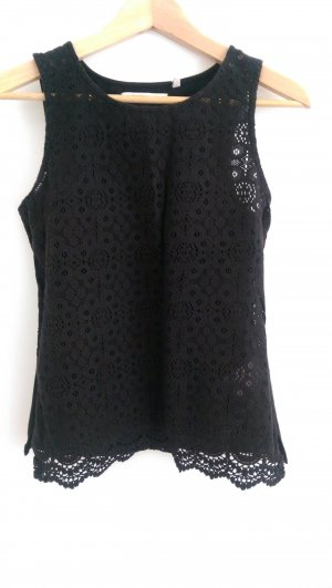 Emoi Crochet Top black cotton