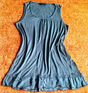 Damen Top Sommer Tunika Gr.M in Grau von Lisa Tossa