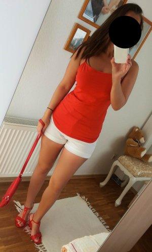Damen Top von Clothes by H& M ,M Rot