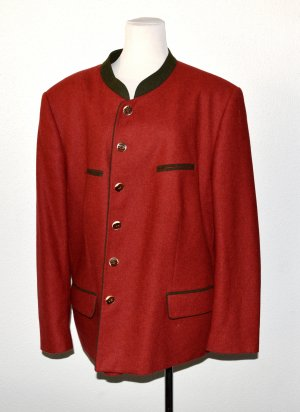 H.Moser Traditional Jacket dark red silk