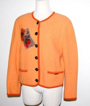 Geiger Traditional Jacket dark orange new wool