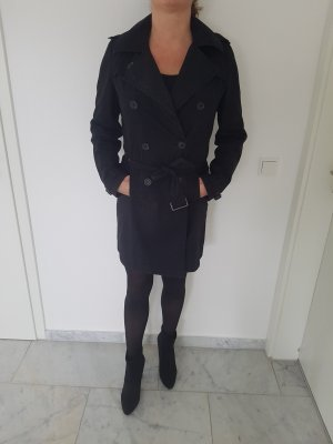 Marie Lund Trenchcoat noir