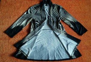 Frank Lyman Shirt Jacket black-white polyester