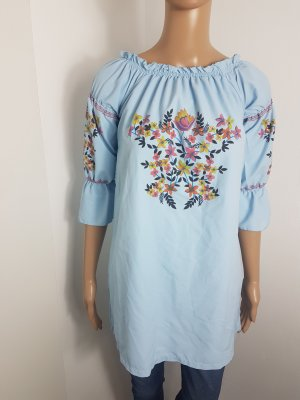 Crash Blouse baby blue