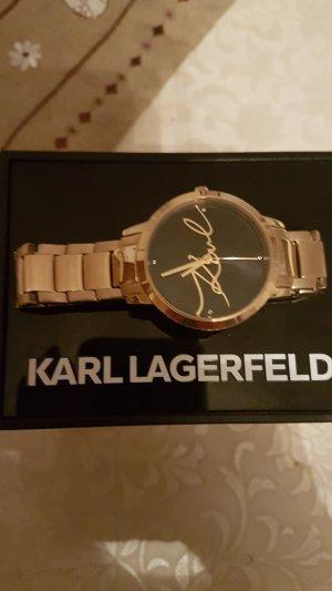 Karl Lagerfeld Montre doré