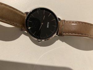 Cluse Montre avec bracelet en cuir multicolore cuir