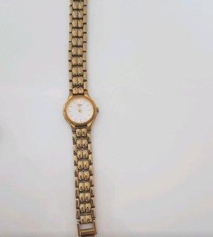 Damen Uhr gold