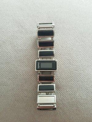 Damen Uhr in silber schwarz von Esprit