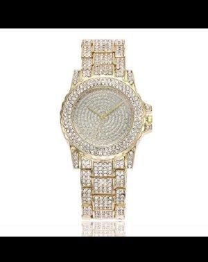 Damen Uhr mit strass