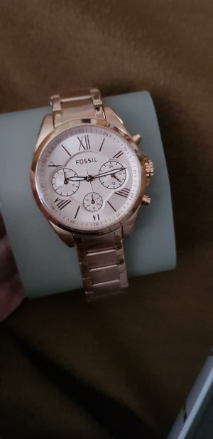 Damen Uhr rosegold Fossil mit Box