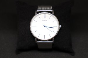 Geneva Analog Watch white-silver-colored