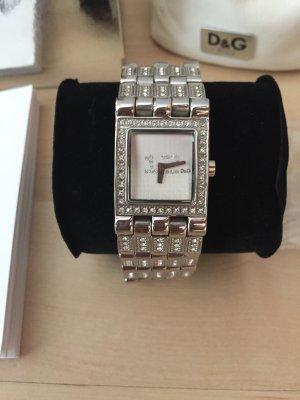 Damen Uhr von D&G Dolce Gabbana mit Zirkonia-Steinen