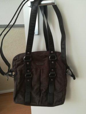 Tamaris Crossbody bag grey brown