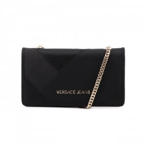 Versace Clutch black imitation leather