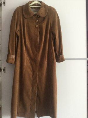 Damen Velour Trenchcoat Gr.46/48