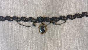 Damen Vintage Lolita Burlesque Gothic Vampir Cosplay Necklace