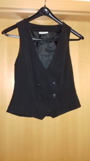 Costume business noir-gris polyester