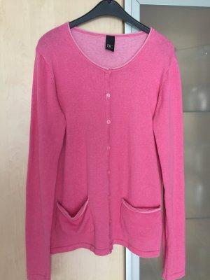 Damen Weste Cardigan Jacke Gr 38 pink rosa von Best Connections wie Neu