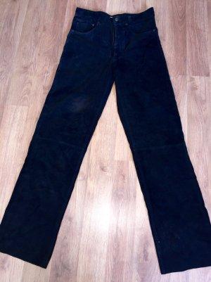 Damen-Wild-Lederhose schwarz, Hundertmark Gr. 31 (mit Futter)