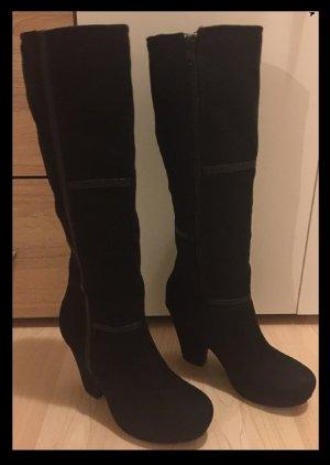 Damen Winter Fell Stiefel Gr 36