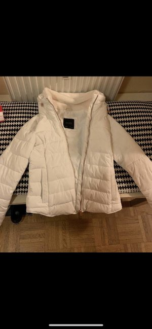 Zara Veste d'hiver blanc