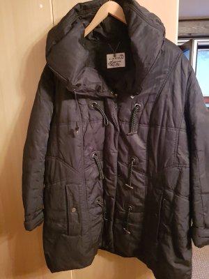 Damen Winterjacke schwarz Größe 46