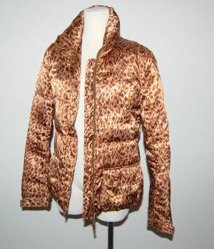 Damen Winterjacke - Steppjacke mit Gürtel von Made in Italy Gr. M
