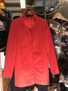 Patricia Pepe Abrigo de lana rojo Lana