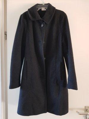 Cappotto in lana antracite Lana