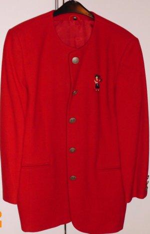 Giacca di lana rosso